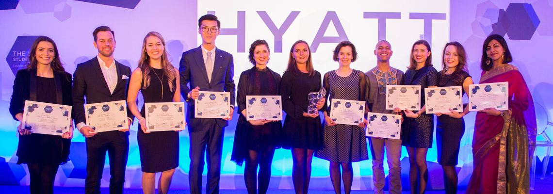 Finalists 2018 The Hyatt Student Prize