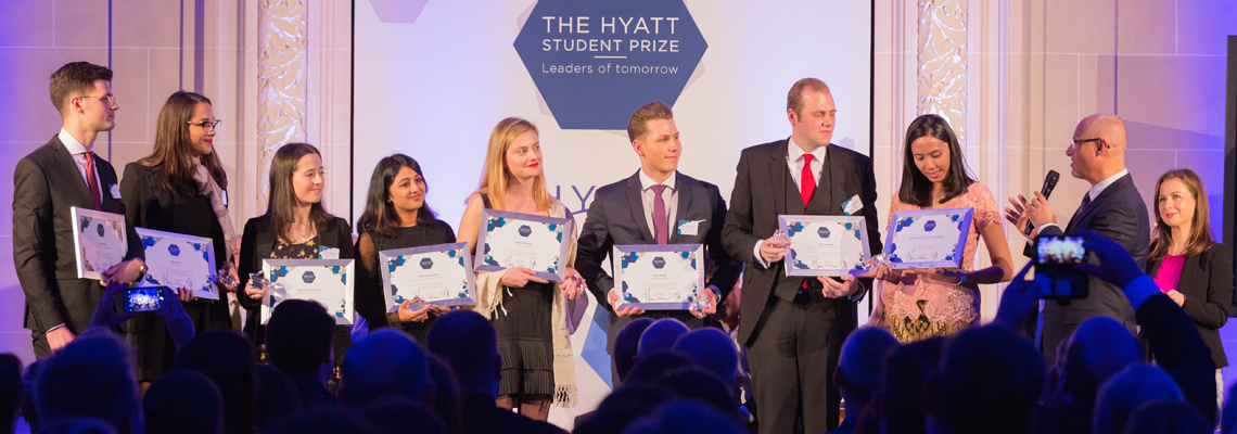 Finalists 11th edition Hyatt Student Prize